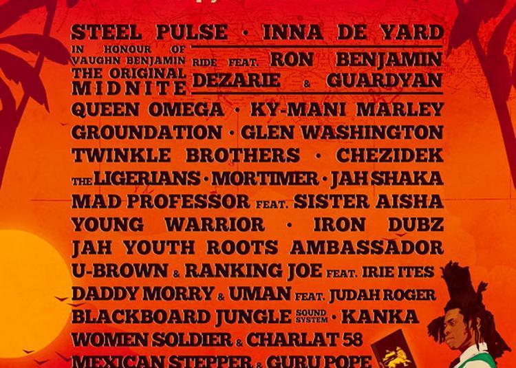 Bagnols Reggae Festival N°3 - Pass camping à Bagnols sur Ceze