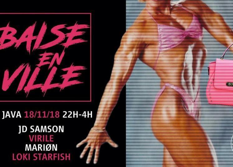 Baise En Ville W/ JD Samson à Paris 10ème