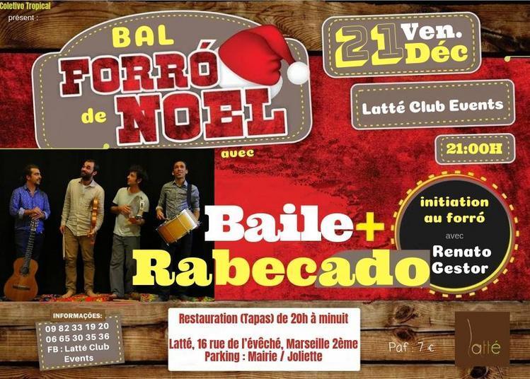 Bal Forró de Noël et initiation au forró à Marseille