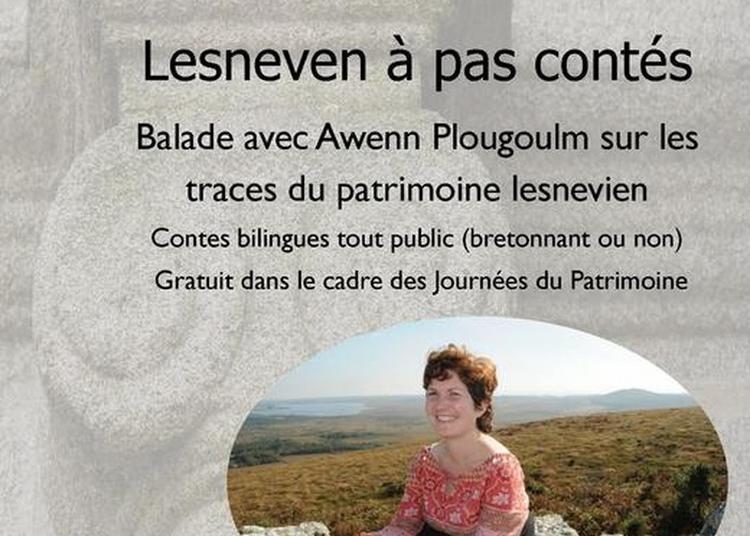 Balade, À Pas Contés Avec Awenn Plougoulm à Lesneven