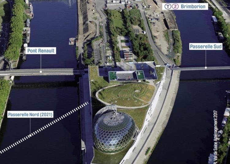 Balade Architecturale - « Les Franchissements De L'île Seguin Et Le Nouveau Pont Seibert » à Boulogne Billancourt