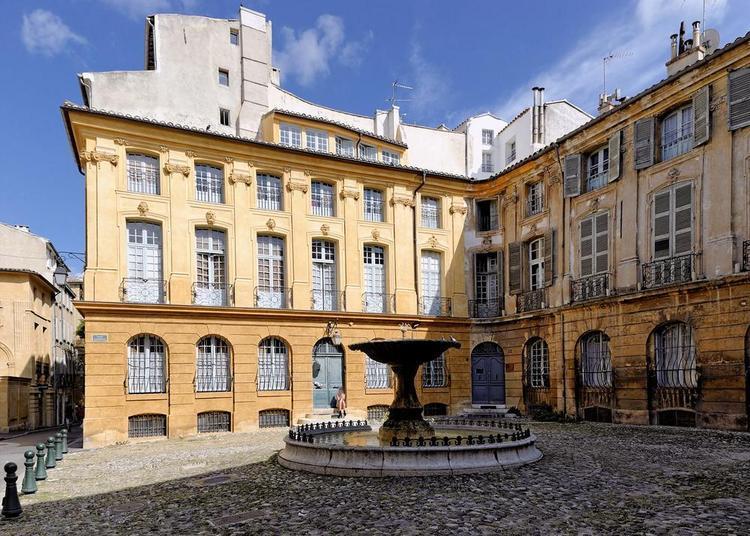 Balade autour des hôtels particuliers aixois à Aix en Provence
