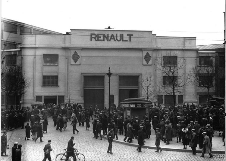 Balade Commentée Avec Emmanuelle Dupuy, Ancienne Salariée De Renault - « Sur Les Traces Du Passé Industriel De Renault » à Boulogne Billancourt