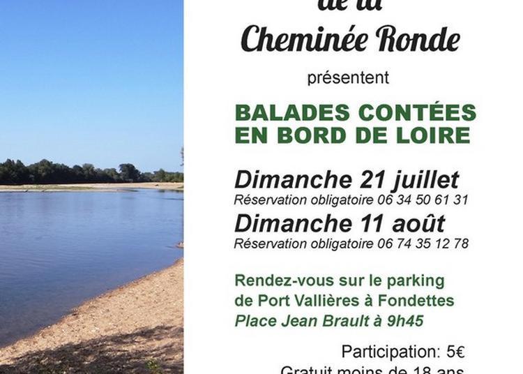 Balade contée en bord de Loire à Fondettes