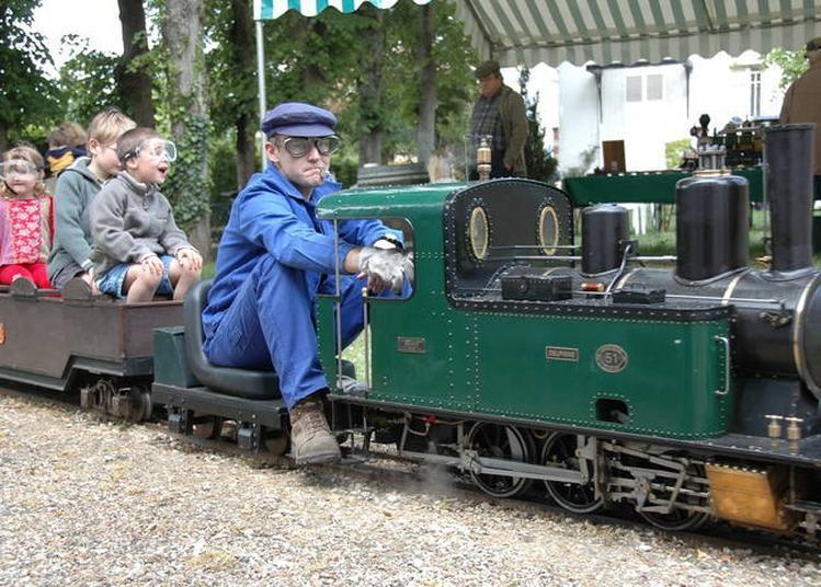 Balade En Train De Jardin à Rambouillet