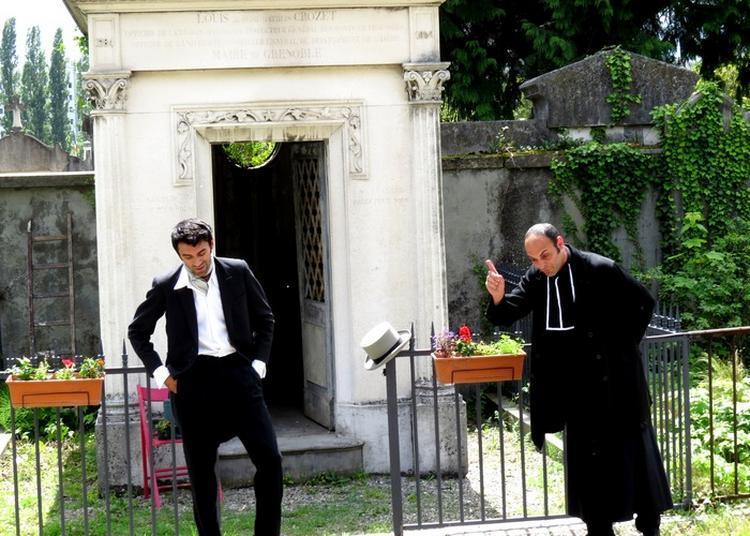Balade Théâtralisée «en Attendant Stendhal» Par La Compagnie Du Nid. à Grenoble