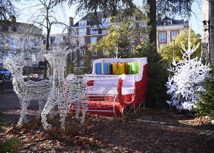 Balades Du Père Noël à Amiens