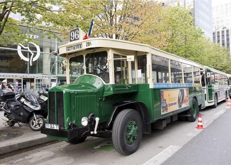 Balades En Bus De Légende à Paris 12ème