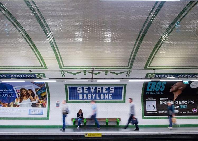 Balades Insolites Dans Le Métro à Paris 10ème