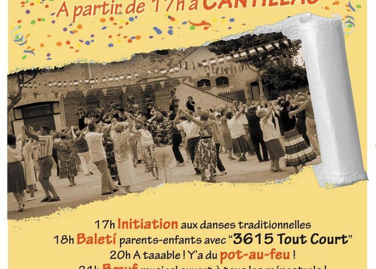 Balèti en famille à Cantillac