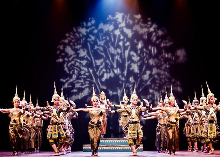 Ballet Royal Du Cambodge à Paris 19ème