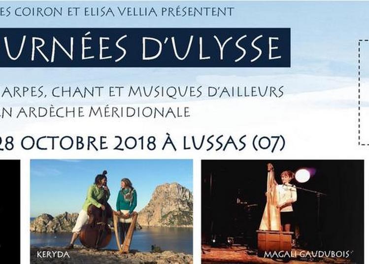 Les Journées d'Ulysse, festival de harpes, chant et musiques d'ailleurs 2018