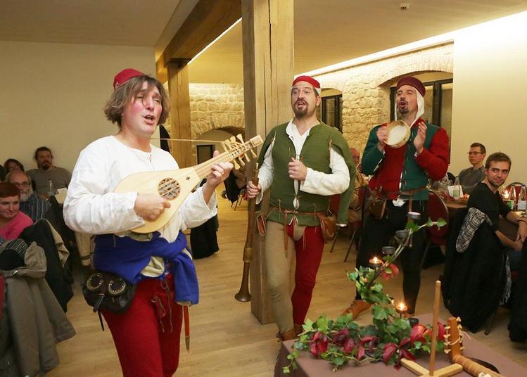 Banquet médiéval à Wintzenheim