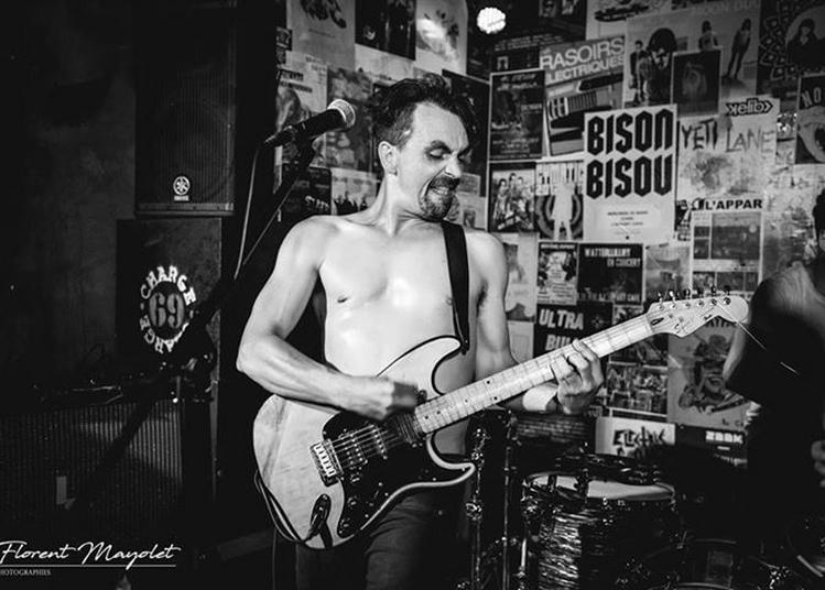 Baptizein & Secret Yolk (garage punk psychédélique) à Strasbourg