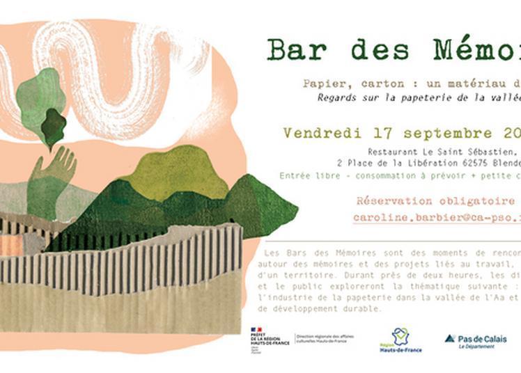 Bar Des Mémoires - Regards Sur La Papeterie Et La Cartonnerie De La Vallée De L'aa à Blendecques