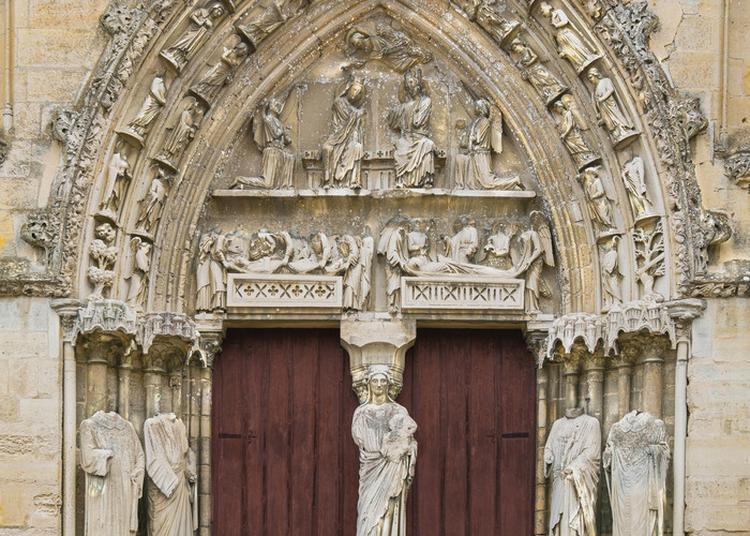 Basilique De Longpont, La Restauration De Son Portail à Longpont sur Orge