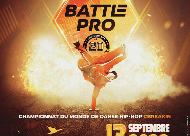 Battle Pro World Final 20th Anniversary à Paris 12ème