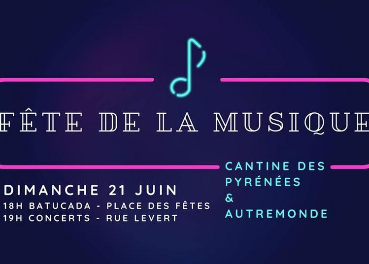 Batucada, concerts par Cantines des Pyrénées & autre monde à Paris 20ème