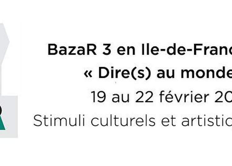 Bazar - Stimuli culturels et artistiques 2020