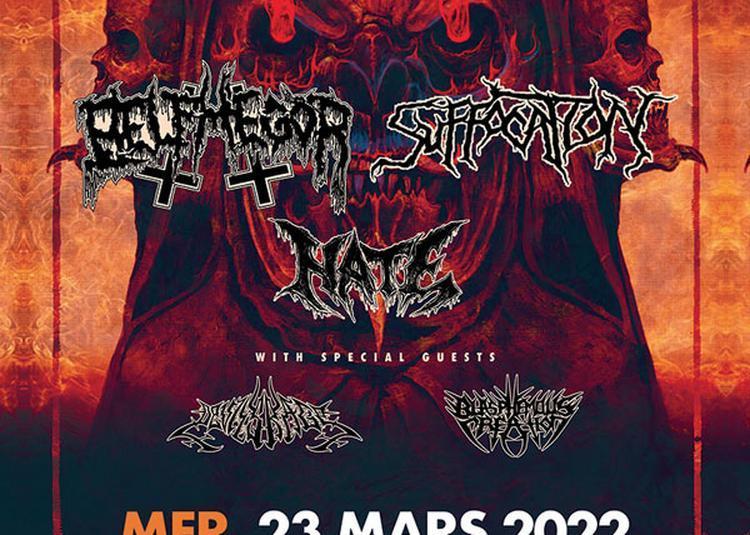 Belphegor + Suffocation + Hate à Colmar