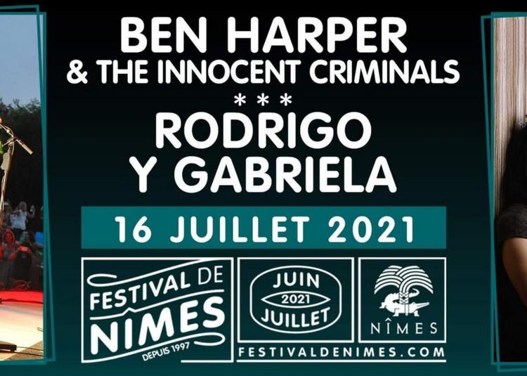 Ben Harper & The Innocents Criminals et Rodrigo y Gabriela - Report à Nimes