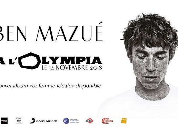 Ben Mazué à l'Olympia à Paris 9ème