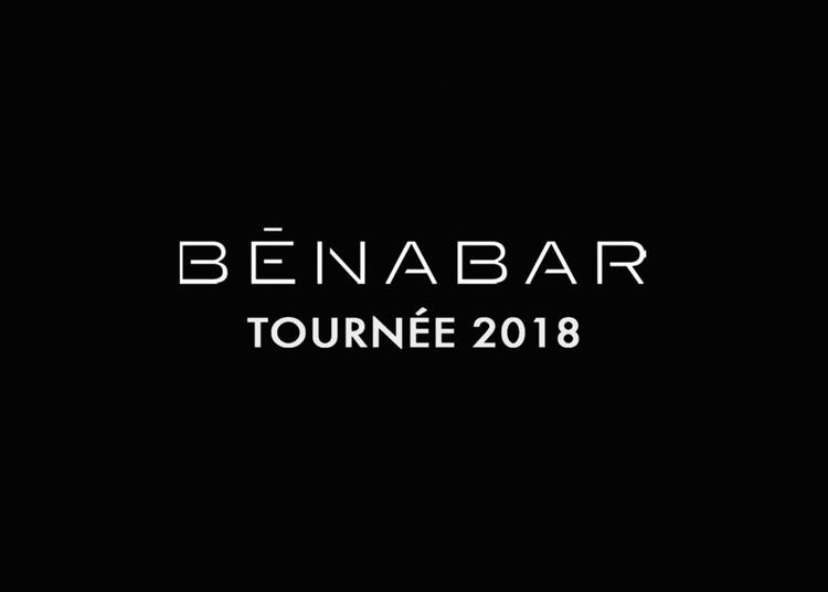 Benabar - Benabar - Tournee 2020 à Gap