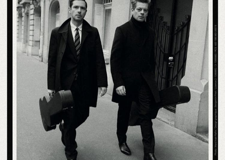 Benjamin Biolay Et Melvil Poupaud à Bordeaux