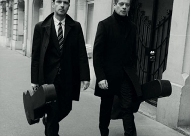 Benjamin Biolay & Melvil Poupaud à Toulouse