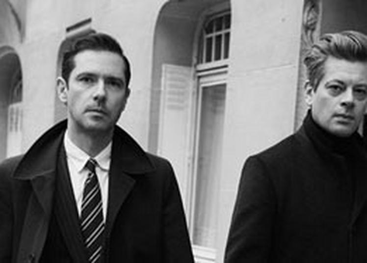 Benjamin Biolay & Melvil Poupaud à Boulogne Billancourt