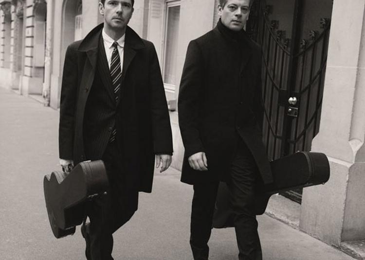 Benjamin Biolay & Melvin Poupaud à Toulon