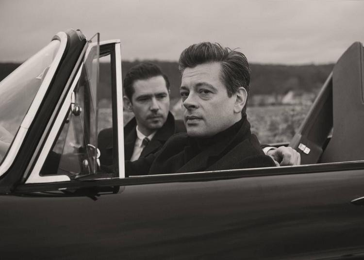 Benjamin Biolay & Melvil Poupaud à Vichy