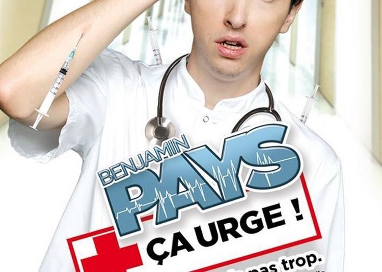 Benjamin Pays Dans Ça Urge ! à Paris 11ème