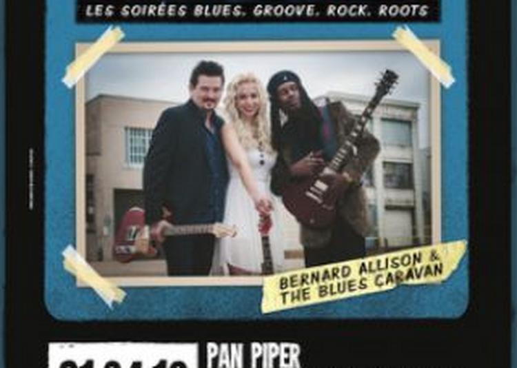 Bernard Allison & The Blues Caravan With Mike Zito & Vanja Sky à Paris 11ème