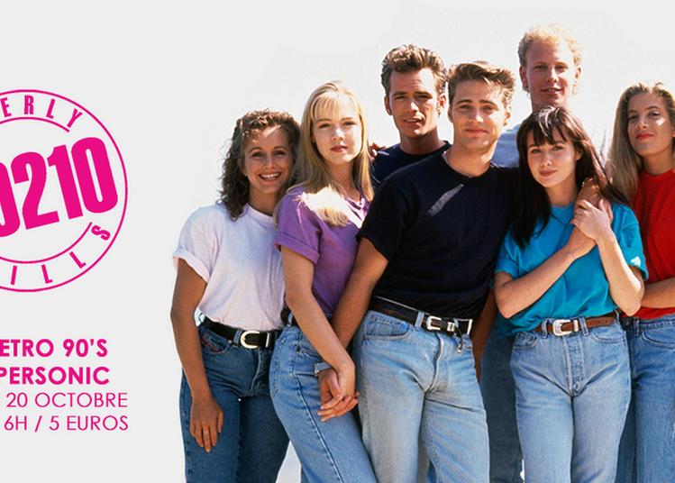 Beverly Hills 90210 Nuit Retro 90'S à Paris 12ème