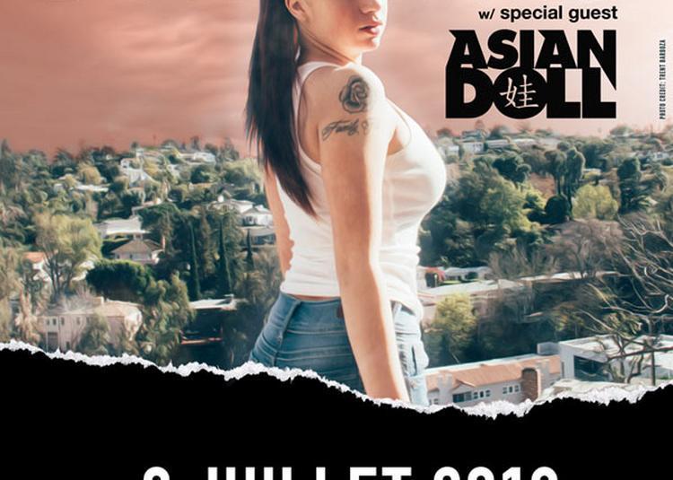 Bhad Bhabie à Paris 20ème