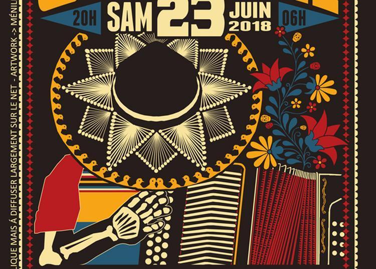 Big Fiesta De Cumbia - La DerniÈre De La Saison à Paris 20ème