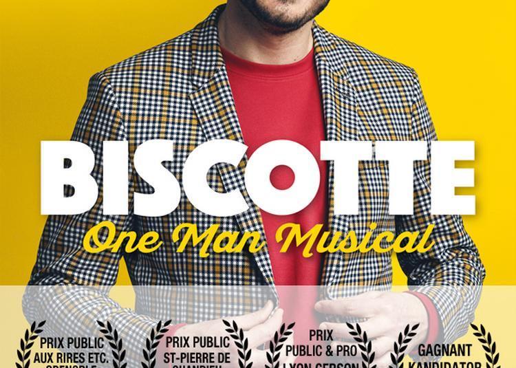 BISCOTTE, one-man musical à Paris 10ème