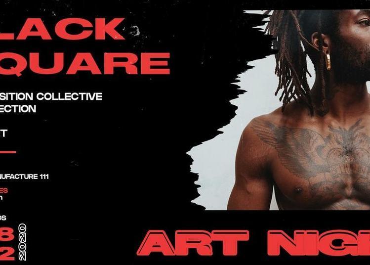 Black Square Art Night - Expo/Projection/Talk/Dj à Paris 20ème