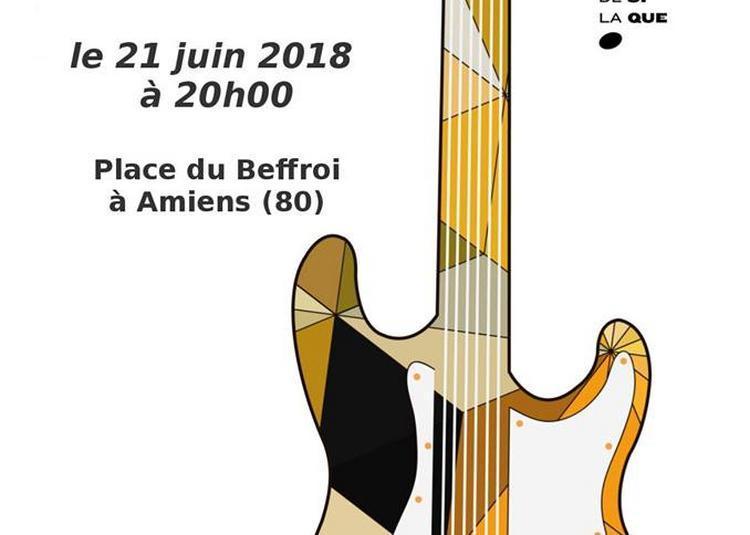 Bleu Orange (Fête de la Musique 2018) à Amiens