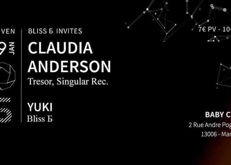 Bliss - invites Claudia Anderson à Marseille