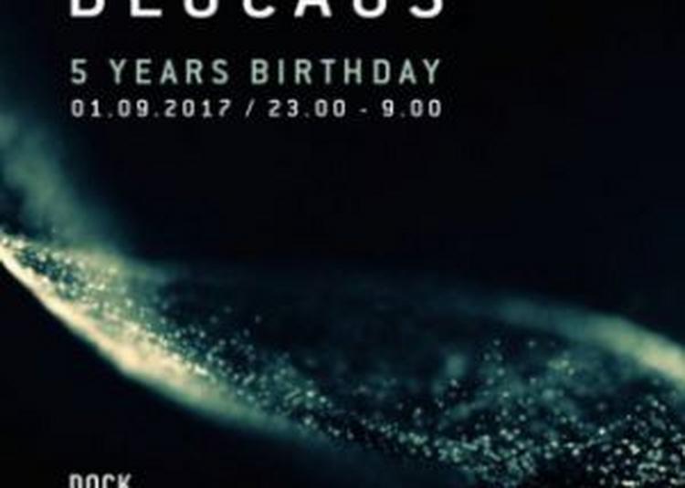 Blocaus 5th Birthday W/ Dvs1, Oscar Mulero, Sigha (live), Absl à Aubervilliers