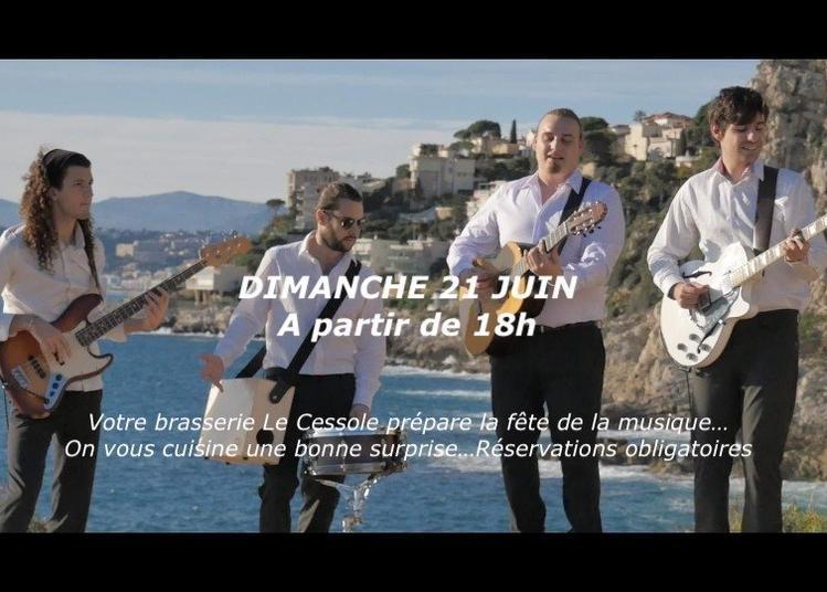 Blue Coast à la Brasserie Le Cessole à Nice