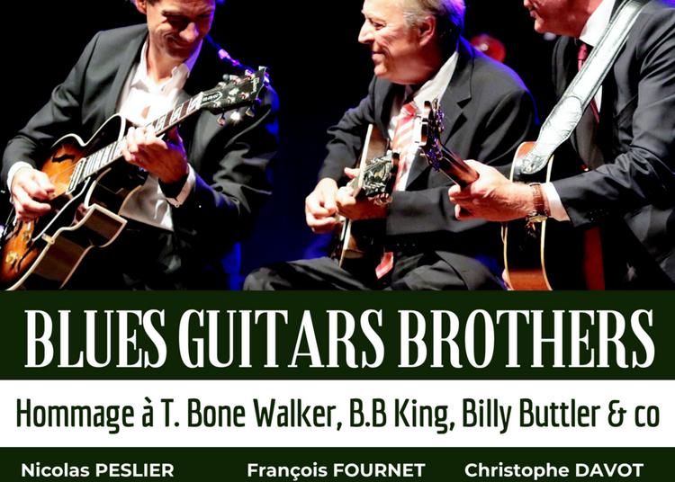 Blues Guitars Brothers à Paris 14ème