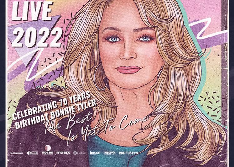 Bonnie Tyler Live 2022 à Paris 9ème