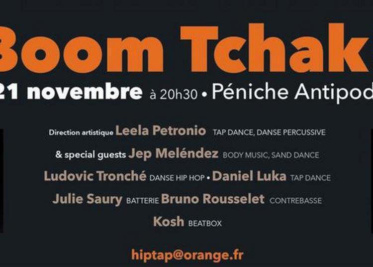 Boom Tchak ! (Percussions corporelles / danse hip hop) à Paris 19ème