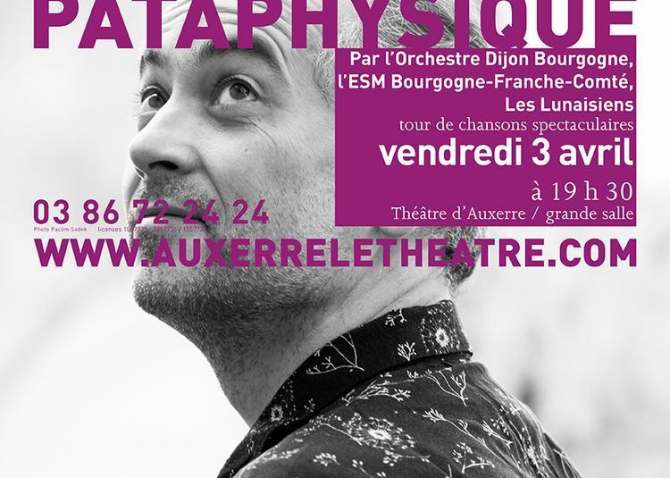 Boris et la pataphysique à Auxerre