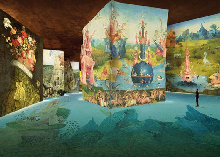 Bosch,brueghel,arcimboldo à Les Baux de Provence