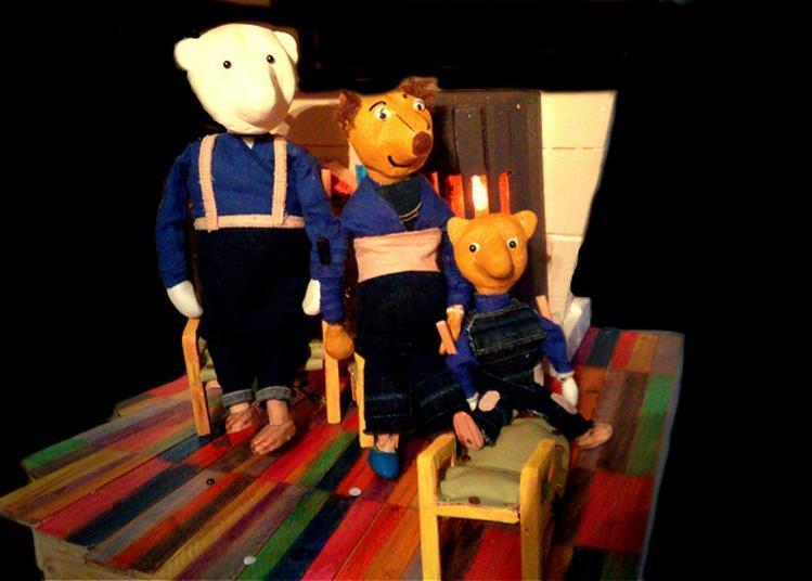 Boucle d'Or et les 3 ours, Festival Jeune Public - Barjac