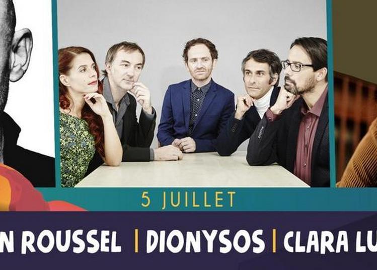 Gaëtan Roussel, Dionysos à Saint Malo du Bois